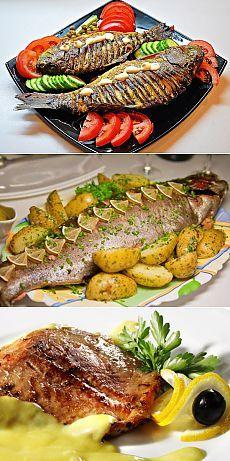 Запеченная рыба : Лучшие рецепты рыбы запеченной в духовке, фольге, с овощами