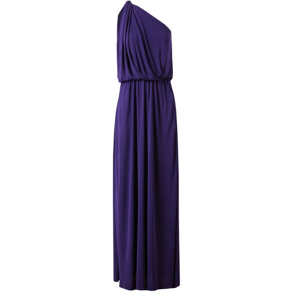 Stretch Jersey Gown   1 795         liked on Polyvore featuring dresses     Stretch Jersey Gown   1 795         liked on Polyvore featuring dresses  gowns   long