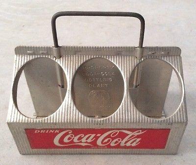 Vintage Reynolds Aluminum Coca-Cola Coke Bottle Carrier Six Pack Carrier - USA