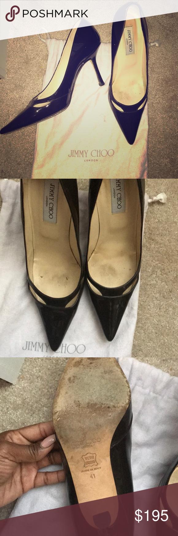 Authentic jimmy Choo London brown heels | My Posh Closet