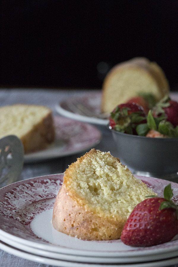 Receta baja en carbohidratos de granos libres de Kentucky torta de la mantequilla