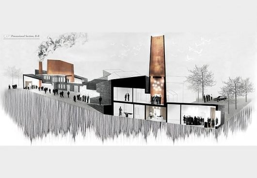 Caitriona Mcghee Sheffield School Of Architecture Features Building Design Arch Drawings
