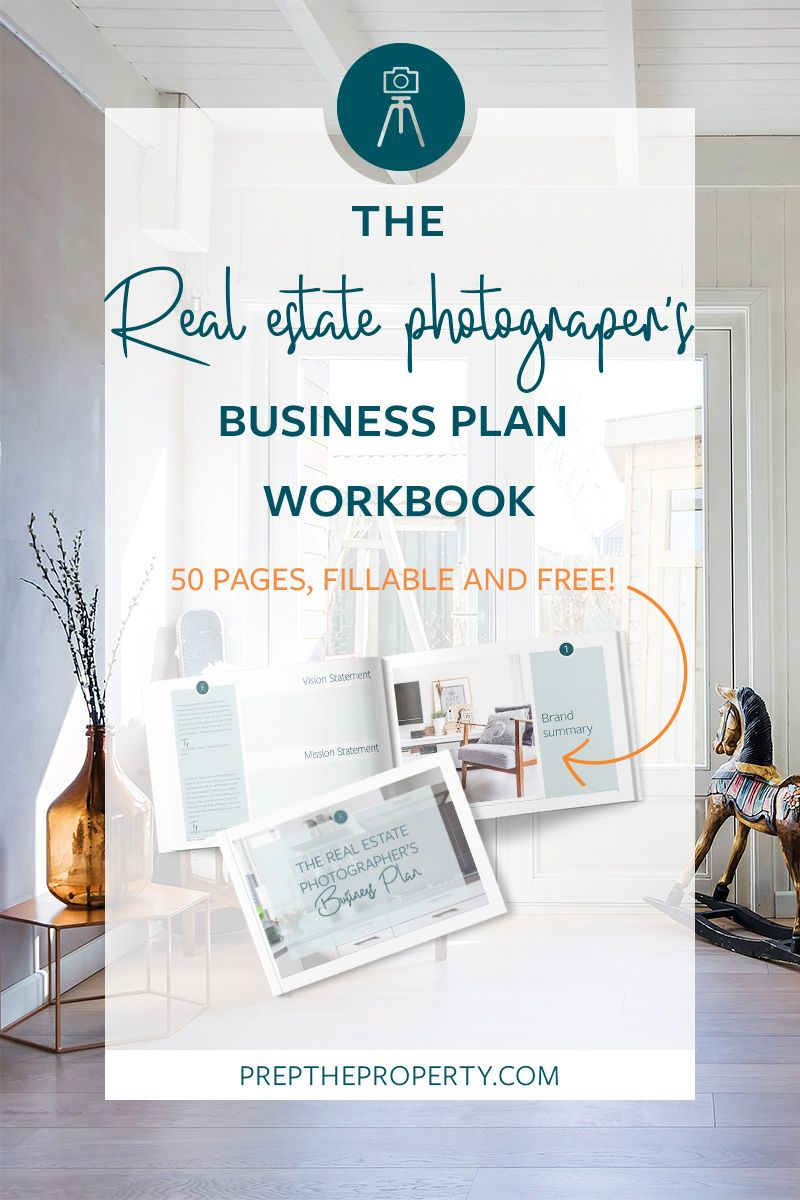 The Real Estate Photographers Business Plan Workbook | real