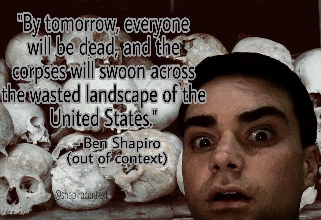 Ben Shapiro Wap Tweet Meme