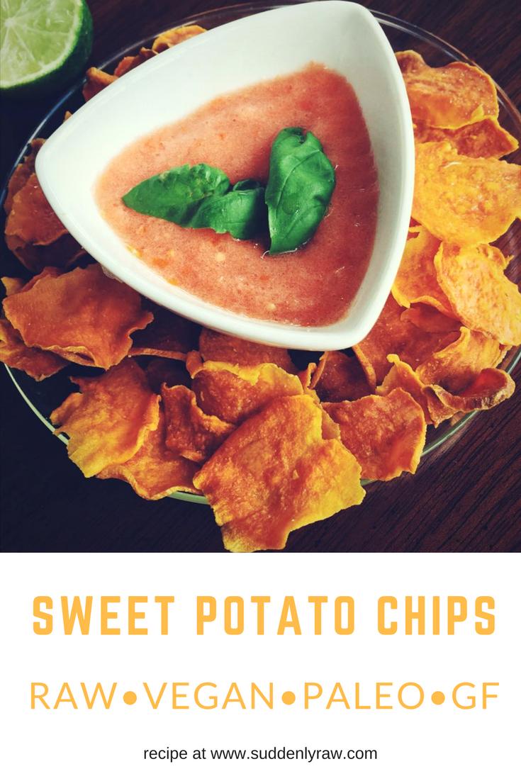 Raw Vegan Sweet Chip Potato Recipe Easy Raw Vegan Recipes
