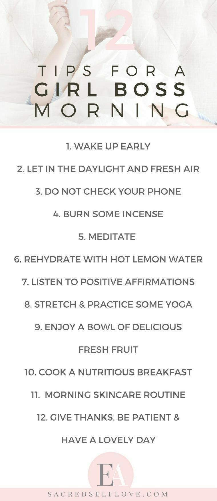 With these tips, I could have the best morning ever, setting myself up for a fabulous day
