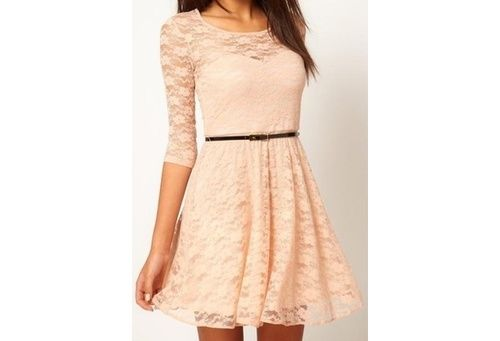 so pretty with the lace!!