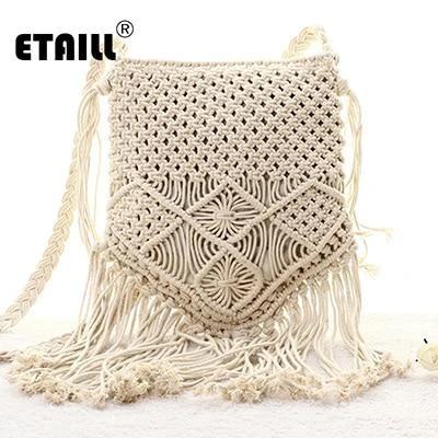 New Bohemian Boho Summer Straw Weave Bag Handmade Pompon Tassel Crochet Knitting Famous Brand New Bohemian Boho Summer Straw Weave Bag Handmade Pompon Tassel Crochet Knit...