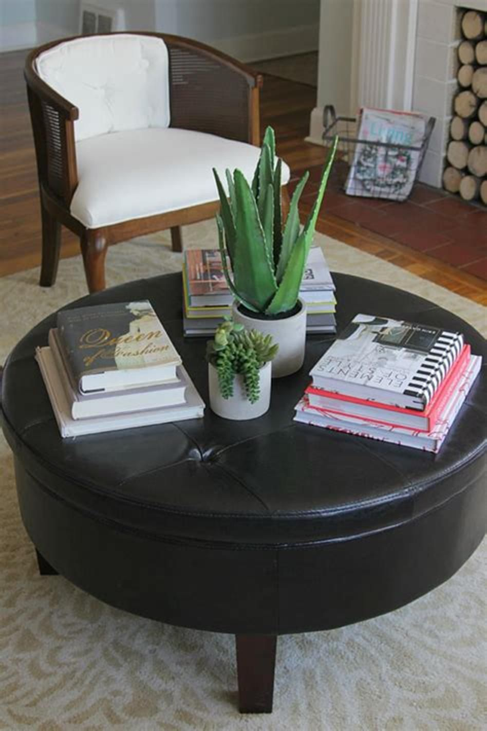 - 46 Awesome Coffee Table Tray Decor Ideas Round Coffee Table