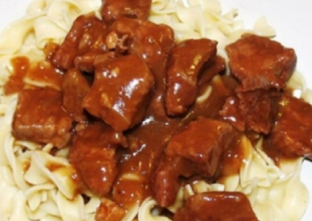 Photo of Recipe: Mom's Cubed Beef.