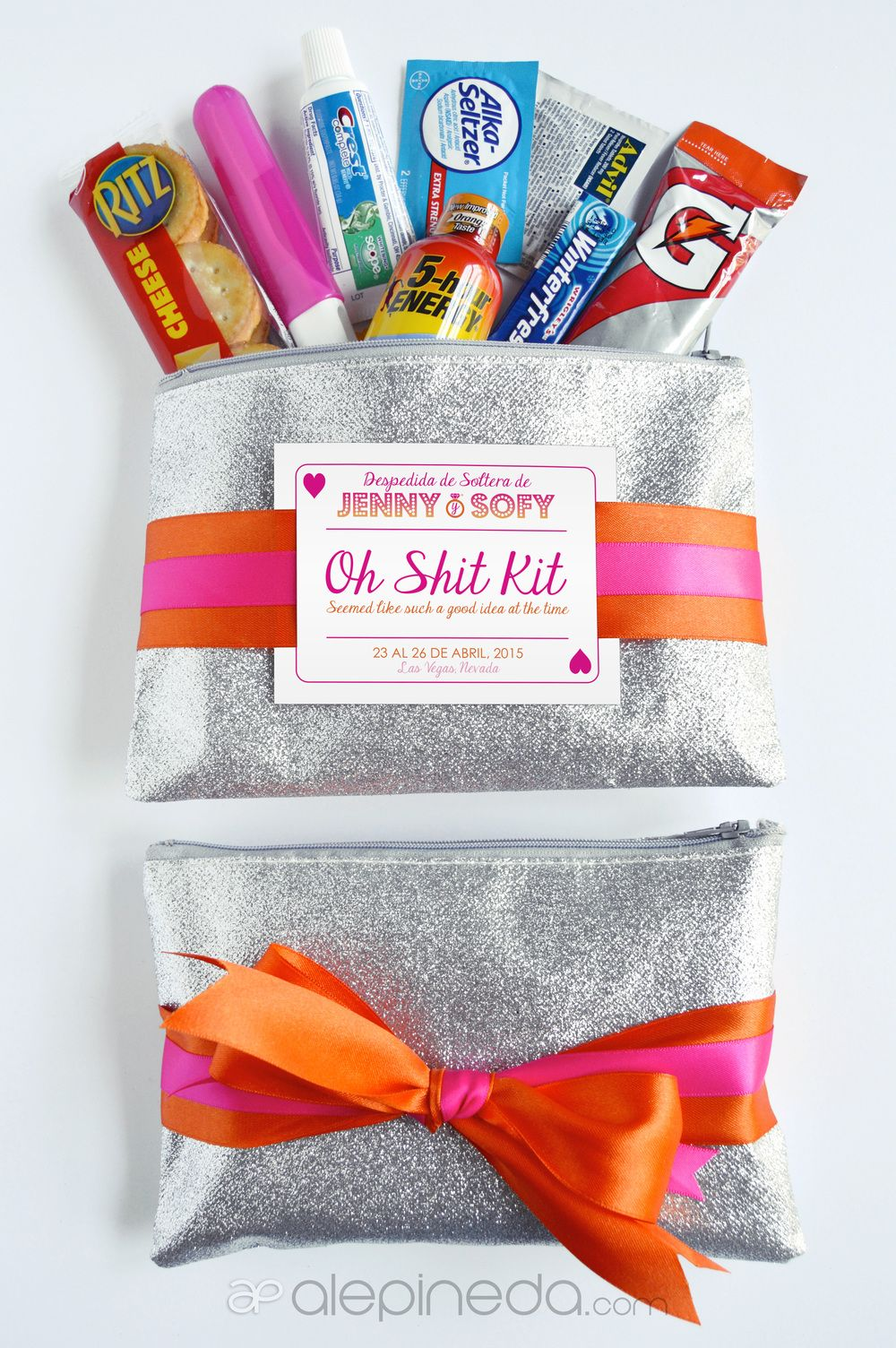 Hangover kit, bachelorette party, vegas, oh shit kit | <3 drEaM ...