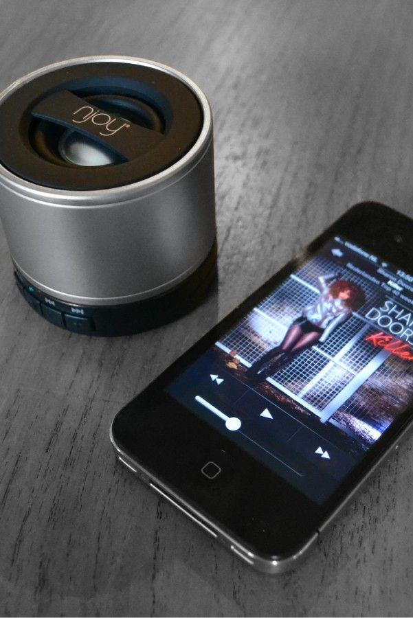 Njoy mini-speaker, your ideal smartphone buddy..:-)