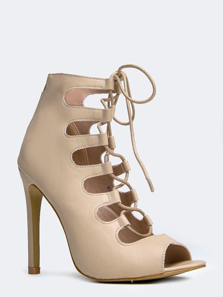 Behave-3 Lace Up Sandal