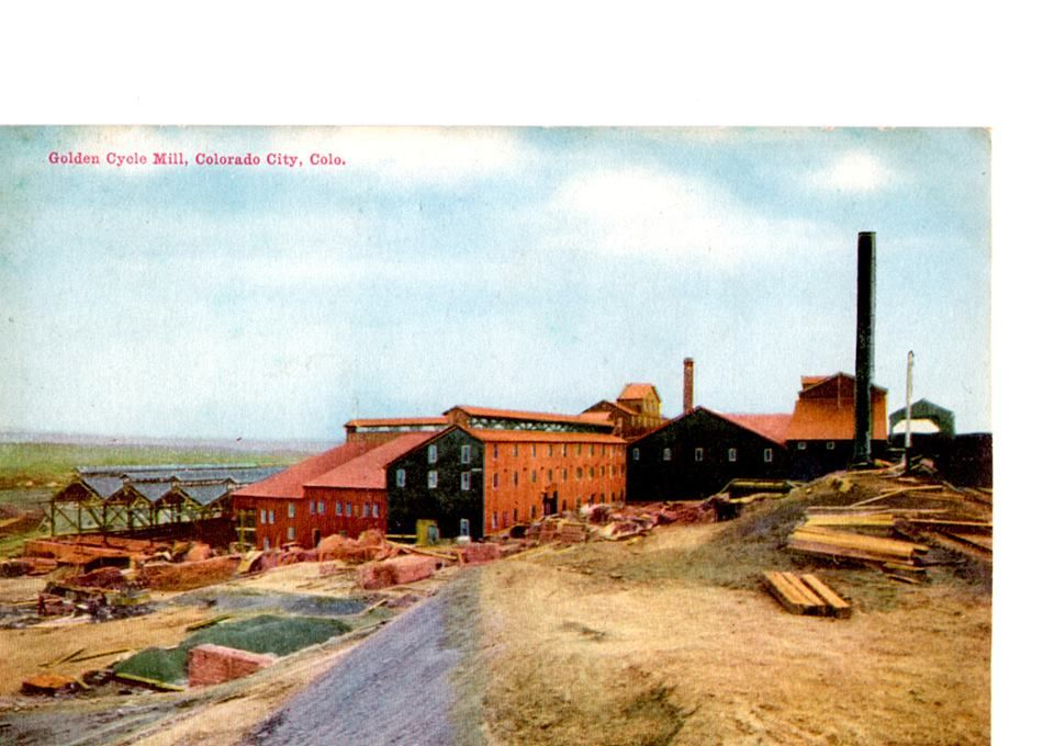 Another View Of The Golden Cycle Mill Living In Colorado Springs