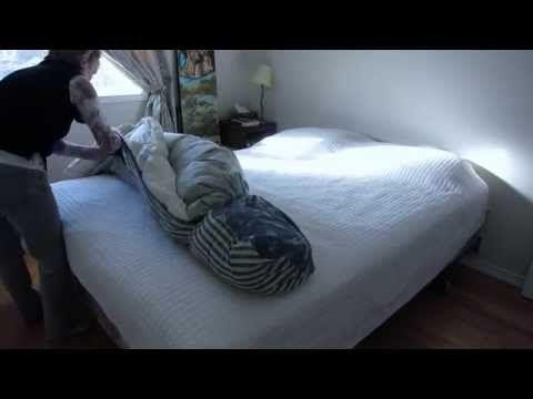 comment mettre rapidement une housse de couette astuces. Black Bedroom Furniture Sets. Home Design Ideas