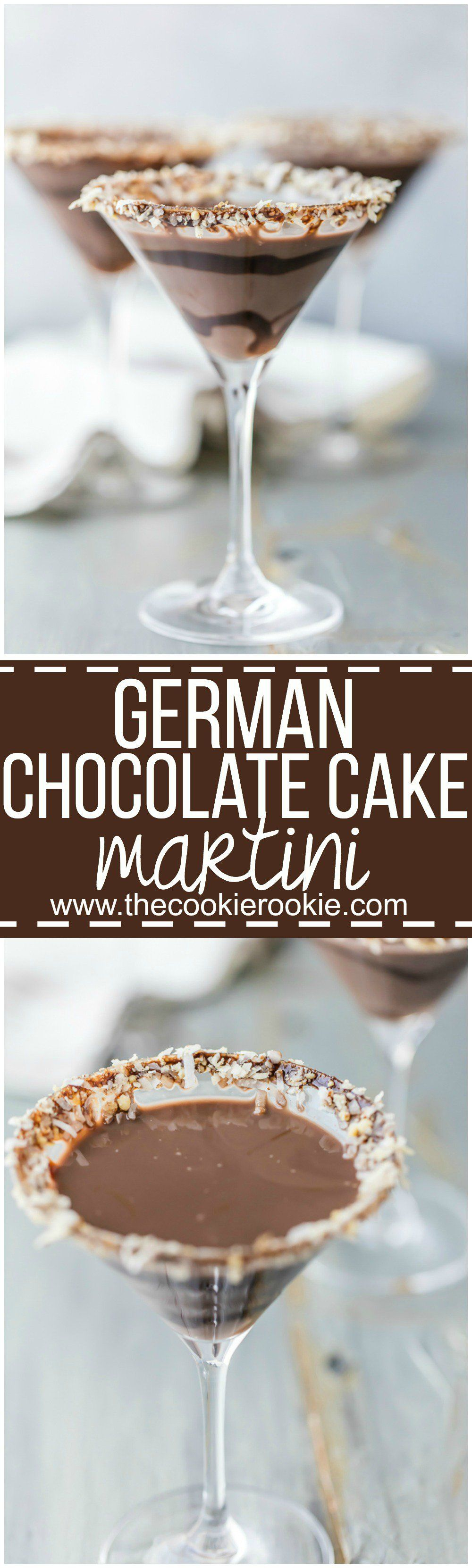 German Chocolate Cake Martini Recipe Martinis And