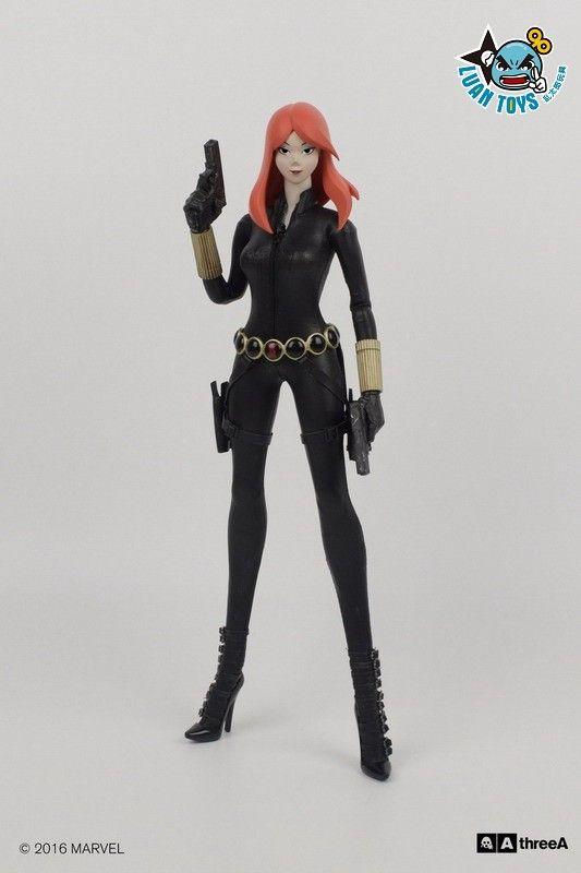 3a Toys Three A Toys Marvel Black Widow 黑寡婦 09 Black