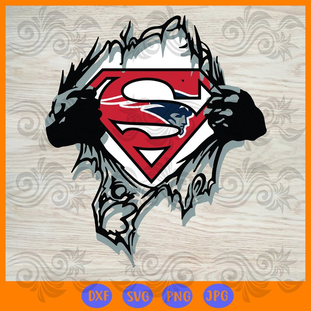 Team superhero new england patriots SVG, DXF, EPS, PNG