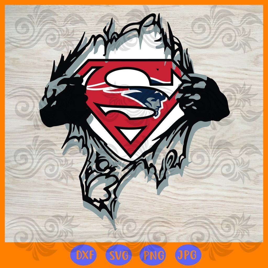 Team superhero new england patriots SVG, DXF, EPS, PNG