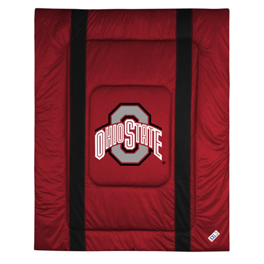 Ohio State Buckeyes NCAA Side Lines Collection Bed
