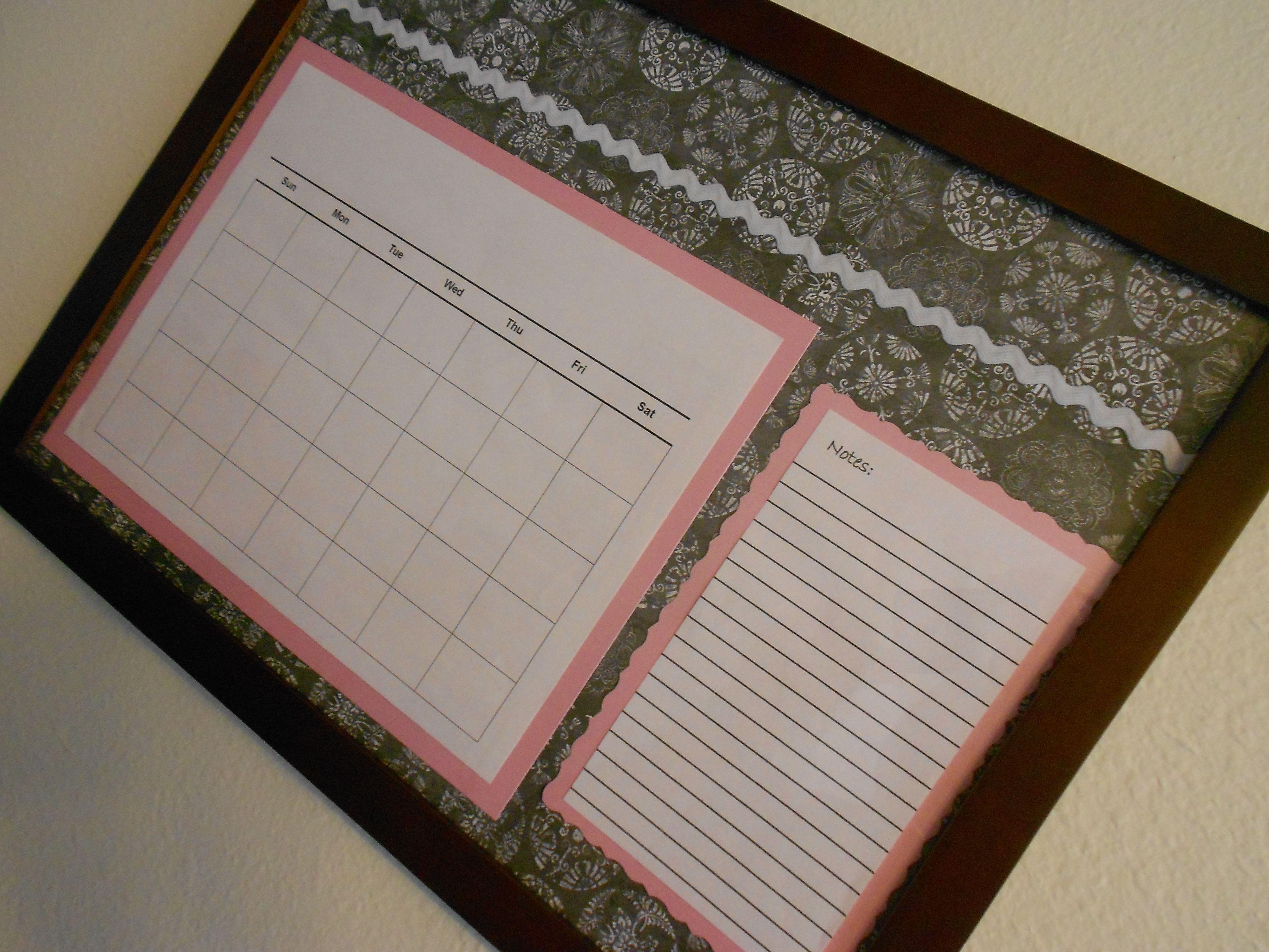 Diy dry erase calendar dry erase calendar dry erase diy