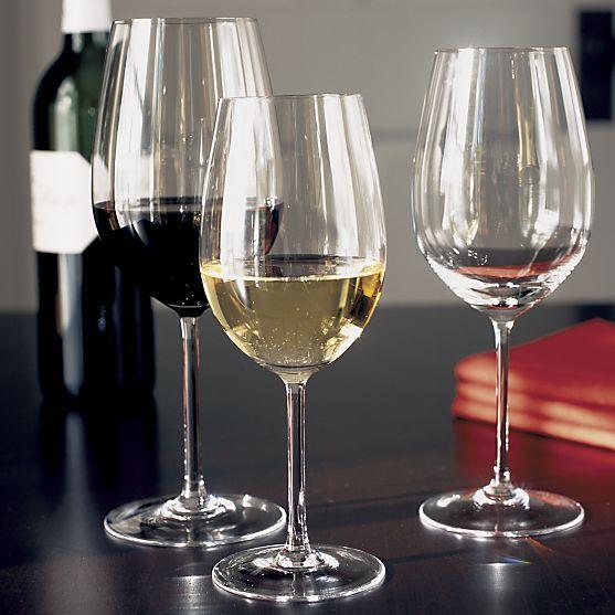 nora 12 oz white rose wine glass in wine glasses crate. Black Bedroom Furniture Sets. Home Design Ideas