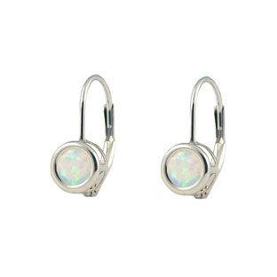 Opal Leverback Earrings Deal Alert Black Trendearrings