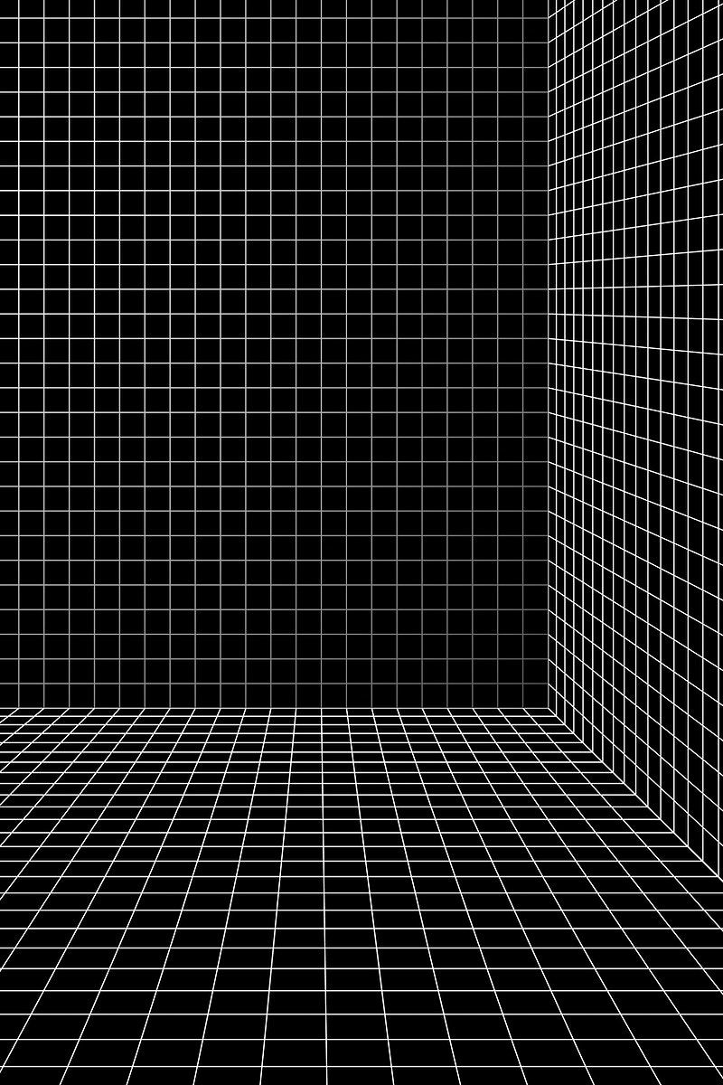 3d Wireframe Grid Room Background Vector Free Image By Rawpixel Com Aew Texture Graphic Design Album Art Design Wireframe