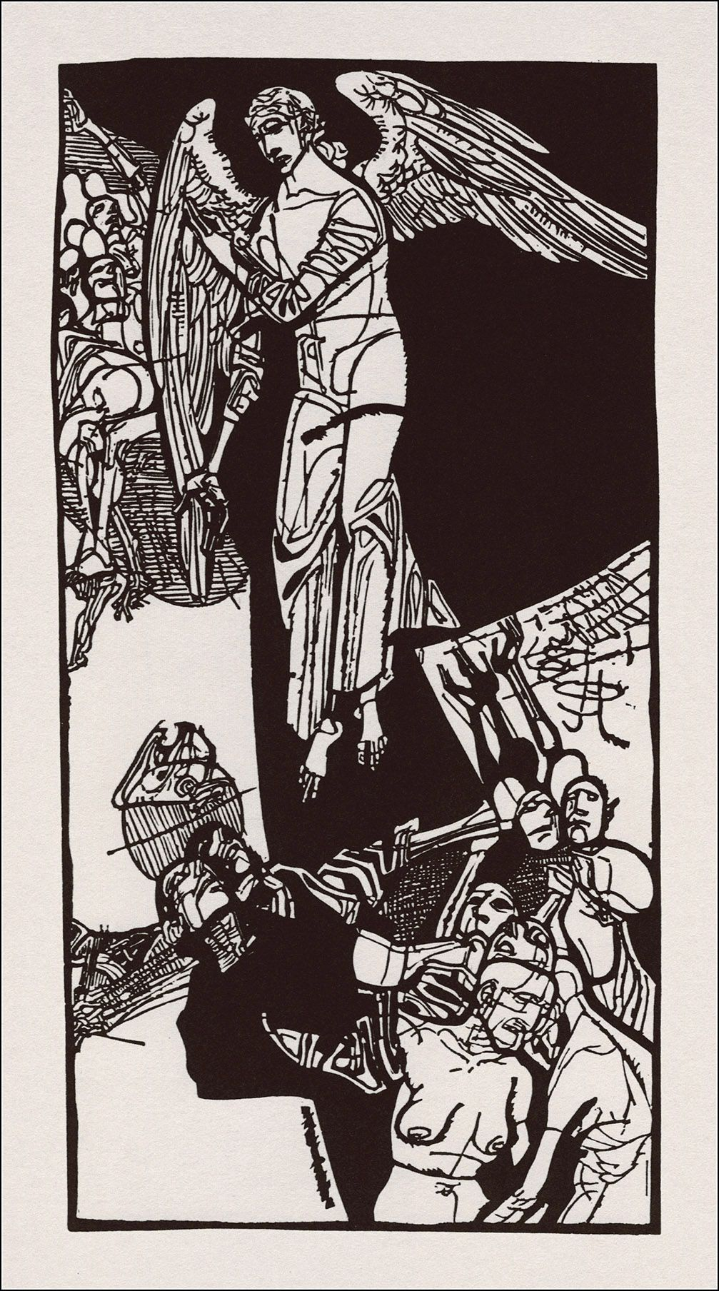 Dante Alighieri. Božská komédia: Očistec / Tatran, Bratislava, 1982 / Illustrator Vincent Hložník