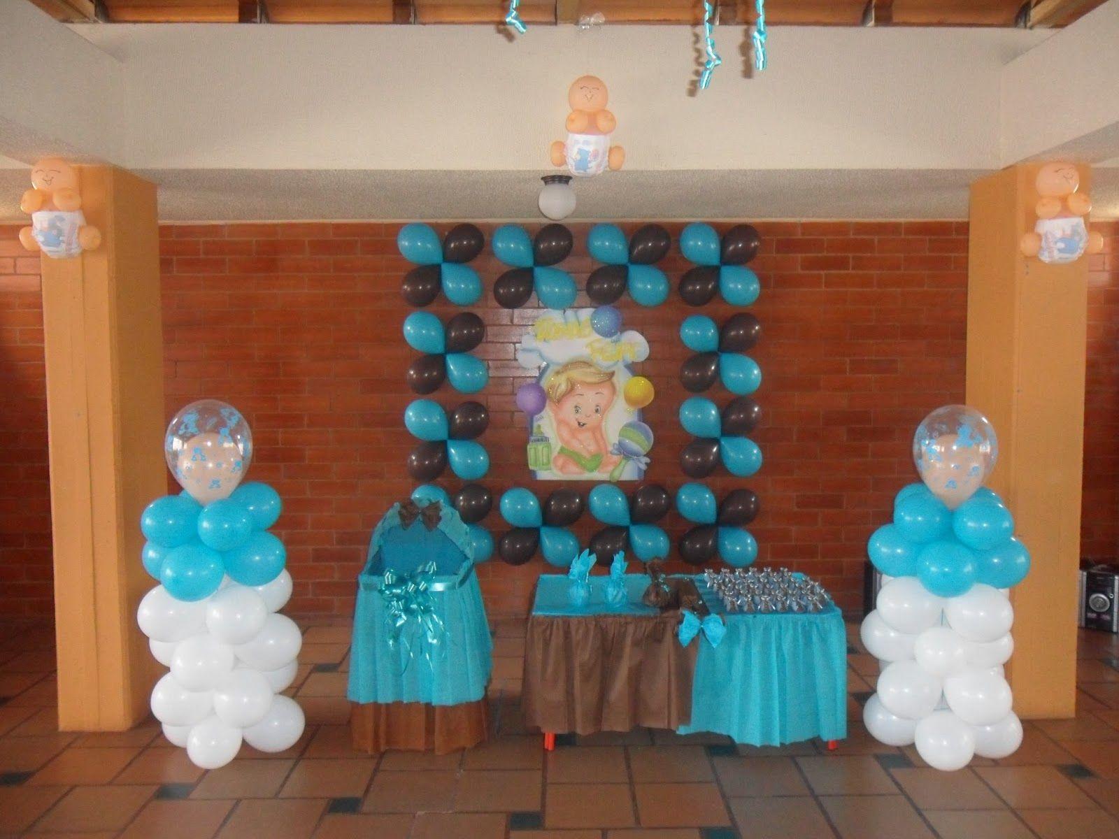 Decoraciones con globos para baby shower y fiestas - Decoracion de globos ...