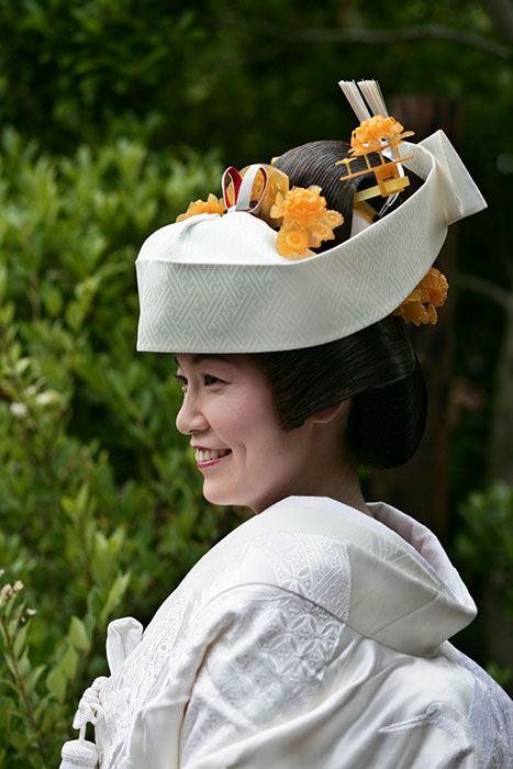 japanese wedding hat