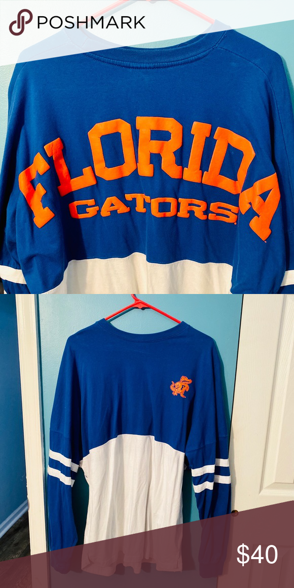 Gator Spirit Jersey Long Sleeve University Of Florida Spirit Jersey Tops Tees Long Sleeve Spirit Jersey Tops Tees Long Sleeve Tees