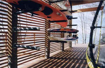 Kayak Storage Design Ideas, Pictures, Remodel, and Decor