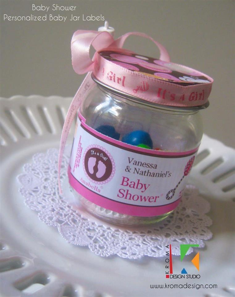 baby shower printable baby jar label for diy shower favors