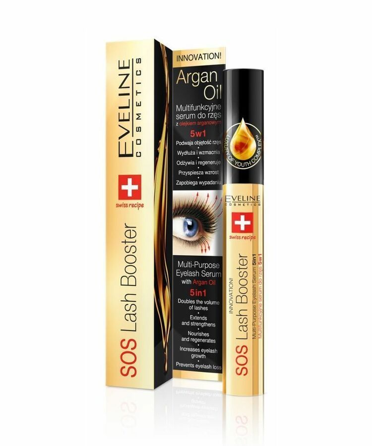 81e37e77e19 New Eveline® 5in1 Lash SOS BOOSTER Conditioner WITH ARGAN Eyelashes Growth  Serum 5907609395283 eBay#SOS#BOOSTER#Conditioner