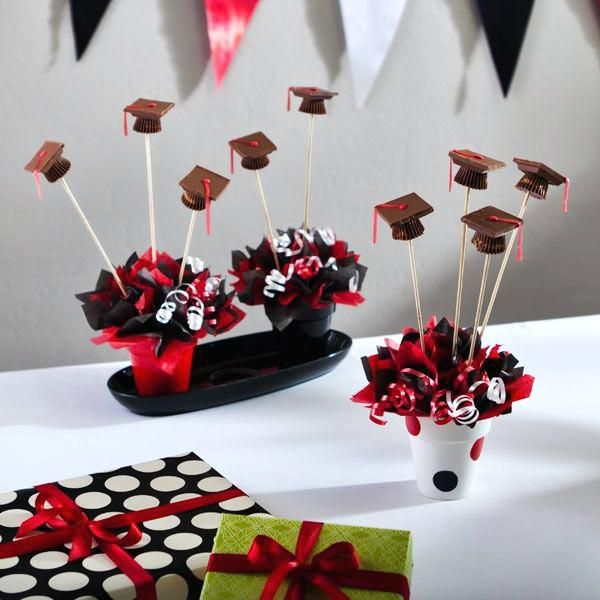 Graduation Party Centerpiece Ideas Ball Table Decorations Make The Live With Centerpieces For