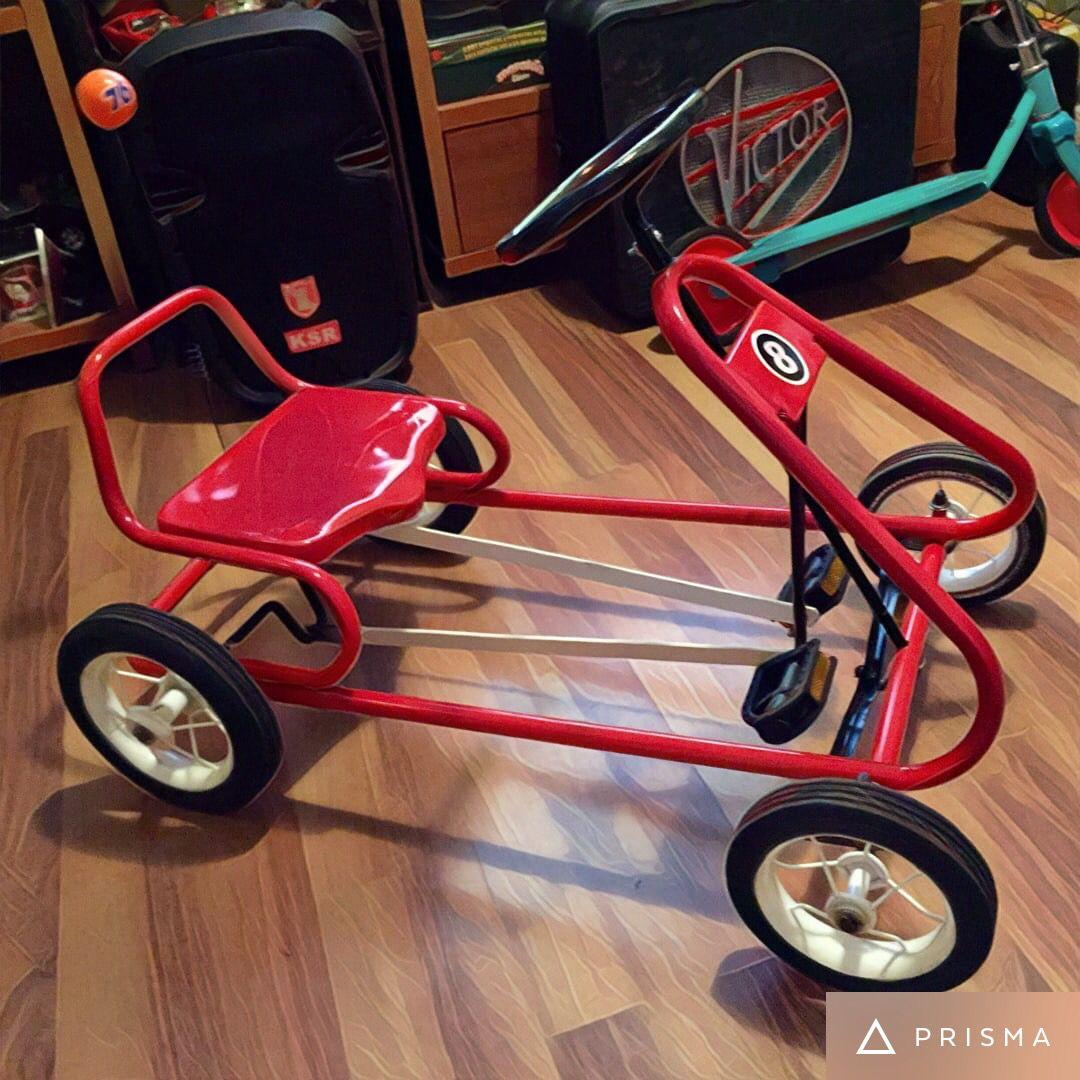 Terminado Carro De Pedales Apache Go Kart Soap Box Child S