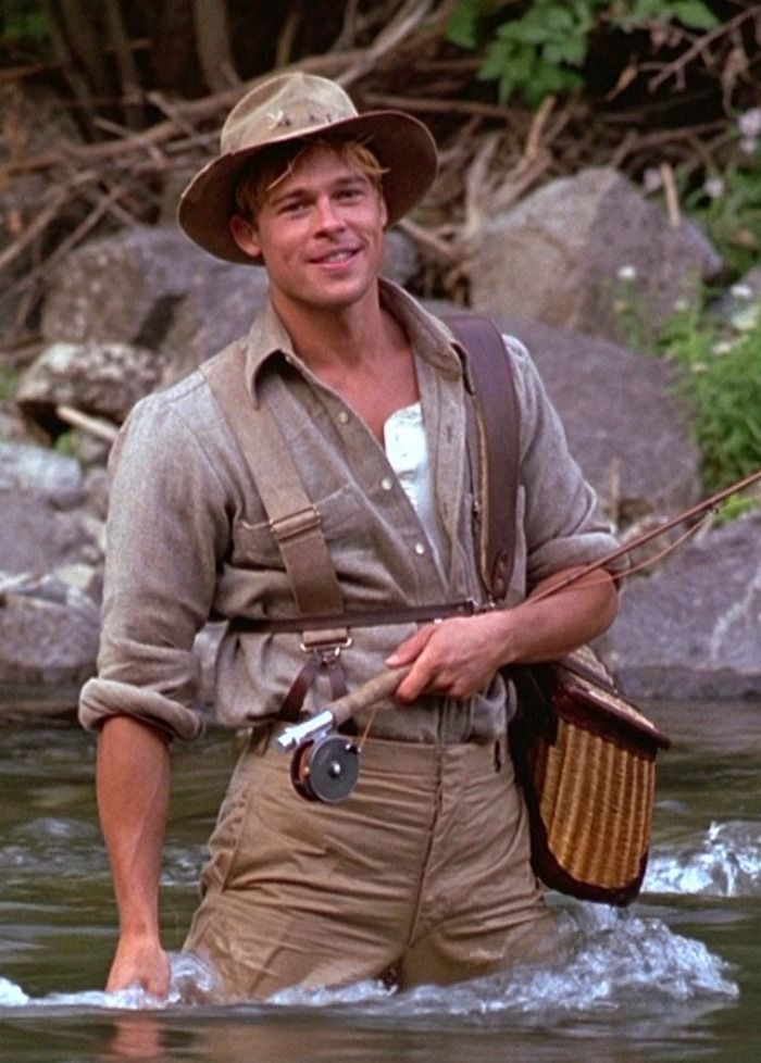 A RIVER RUNS THROUGH IT with Brad Pitt and directed by Robert Redford -  On #amazonprime but not Netflix