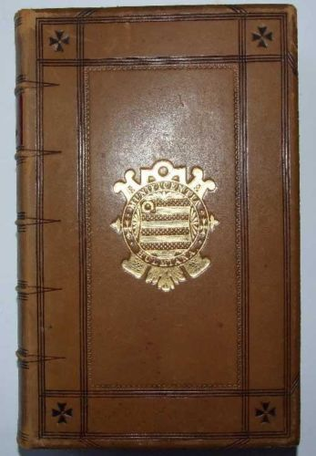 The-Inspiration-of-Holy-Scripture-Nature-Proof-Lee-1865-Dublin-Fine-binding
