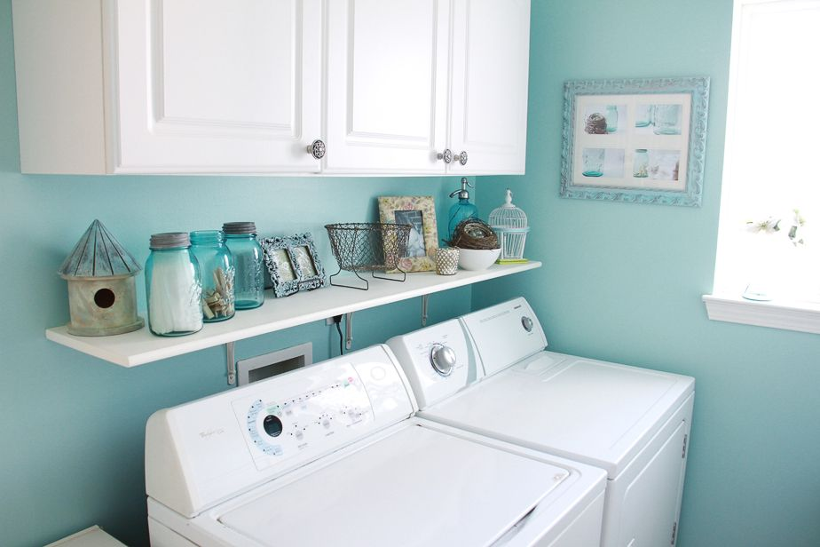 Cameras And Chaos Blue Laundry Rooms Laundry Room Decor Room Redo