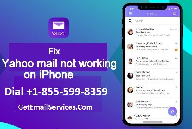 Yahoo Mail App Not Working Email service provider