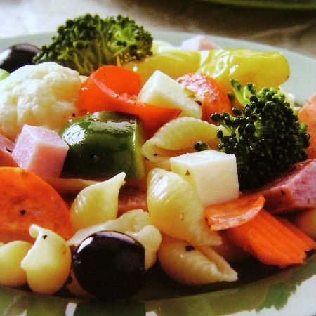 Antipasto Pasta Picnic Salad