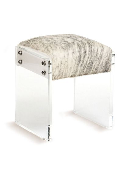 Vanity Stool by Zentique at Gilt