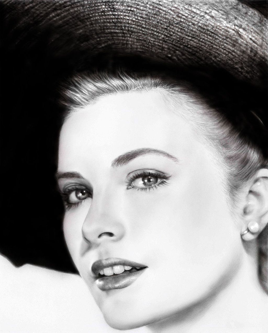 Grace Kelly by mwford on deviantART traditional pencil