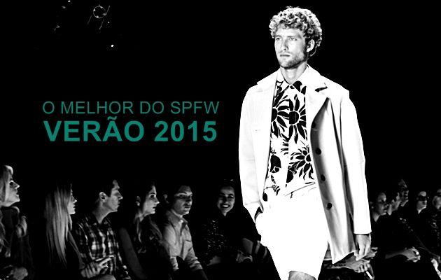 O melhor do SPFW Verão 2015