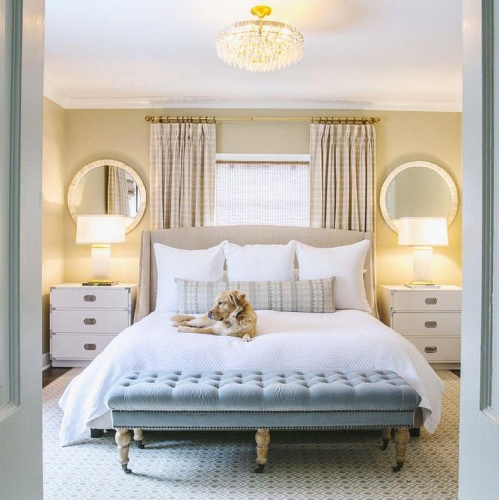 Bed head against window   ways to make your master bedroom feel like a boutique hotel