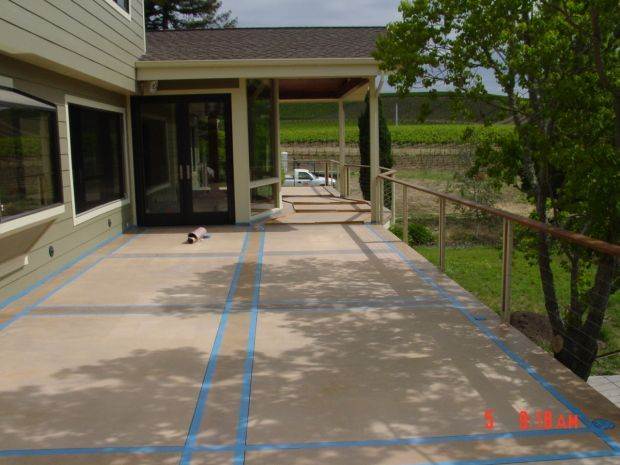 Suspended Concrete Deck