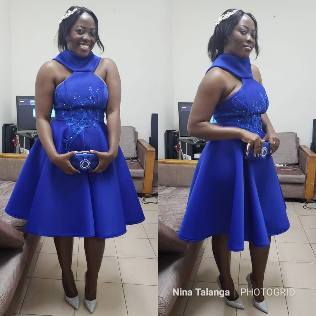 #weddingguest #bluedress #Fashiondesigner #partywear #237 #ninatalanga