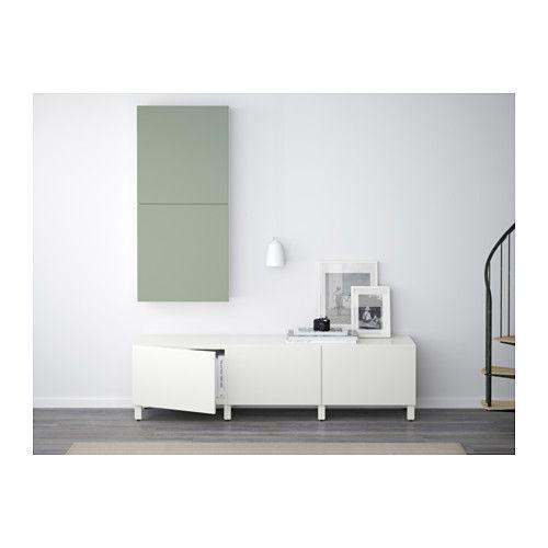 best l ment mural 2 portes blanc lappviken vert ikea deco salon pinterest ikea. Black Bedroom Furniture Sets. Home Design Ideas