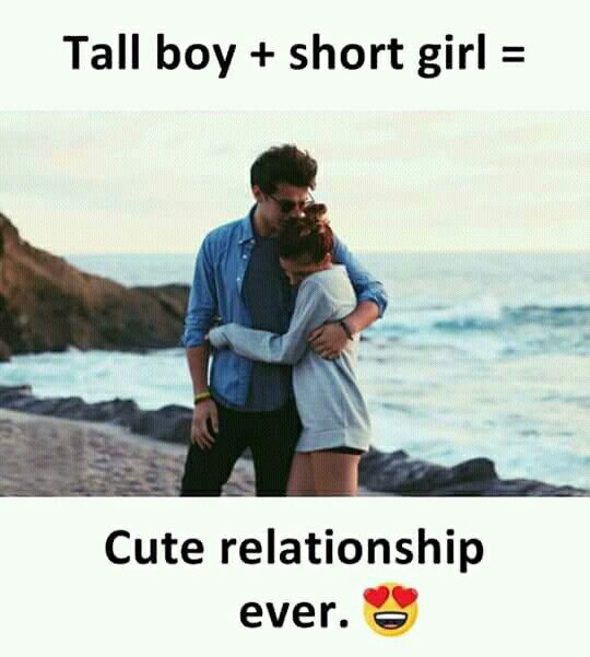Tall Boy Short Girl Cute Relationship Ever Relationship